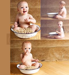 ah so cute but my daughter would probably pee in her cerial and still try to eat it,lol
