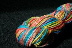 Amazing #handpainted #yarn by OystercatcherYarns on @Etsy $15 Wool!