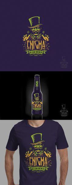 Belgian brewery logo design