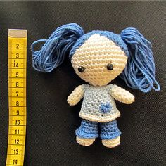 DollyDoll by Julia Weiss | FREE PATTERN DOWNLOAD at Ravelry http://www.ravelry.com/patterns/library/dollydoll