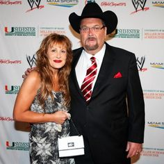 Jim Ross and his wife Jan Wwe Couples, Wwe Tna, Cowboy Hats, Wrestling, Sports, Fashion, Lucha Libre, Hs Sports, Moda