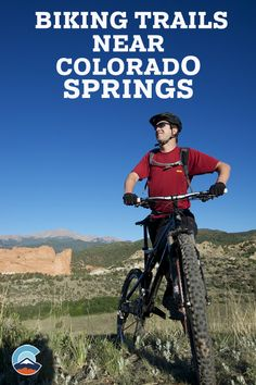 Biking Trails around Colorado Springs | biking | cycling | outdoors | Colorado | Colorado Spring