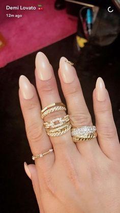 Demi Lovato Nail Piercing Hoop Piercings Celebrity Nails Artist