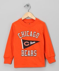 Take a look at this Chicago Bears Long-Sleeve Tee - Kids by OPL on #zulily today!