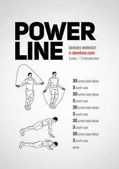 Power Line  Workout | Posted By: AdvancedWeightLossTips.com