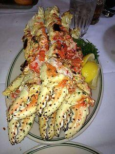 Joe's Stone Crab SOUTH BEACH, FLORIDA- Alaskan king crab