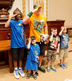 WWE and Make-A-Wish ring the New York Stock Exchange opening bell during SummerSlam Week 2015