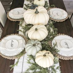 Neutral Fall Table