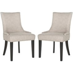 Brisbane Script Dining ChairSet of 2Chairs Dining rooms and