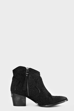 boots for woman molly pearl black Zadig&Voltaire