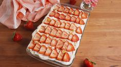 Strawberry Shortcake Lasagna