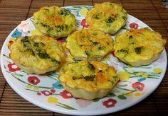 Cozinhando sem Glúten: Tortinhas salgadas com tapioca