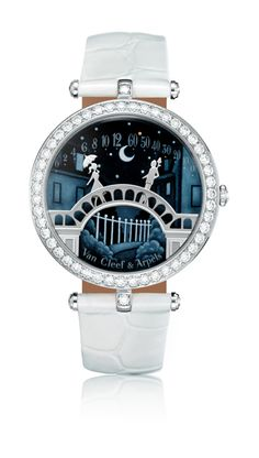 #Jewellerywatches2014 Check out the most awe inspiring jewellery watches by 'Van Cleef and Arpels' Poetic Complications Collection. #SIHH2014http://luxuryvolt.com/2014/01/poetry-narration-by-van-cleef-arpels-jewellery-watches/