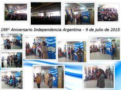 199° Aniversario de la Independencia Argentina.