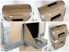 DIY mail box tutorial for our classroom post office