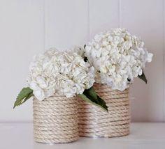 Nautical Diy Flower Vase Holder Annapolis Maryland Wedding 11 1