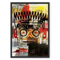Poster Basquiat's Robot de @fernandovieira   Colab55