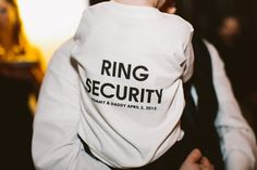 Awesome TEE for the ring-bearer - Intimate Willowdale Estate Mansion Wedding from Zac Wolf Photography