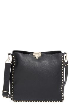 Valentino  Rockstud - Alce  Crossbody Hobo available at  Nordstrom  Valentino Crossbody f919149b5be46
