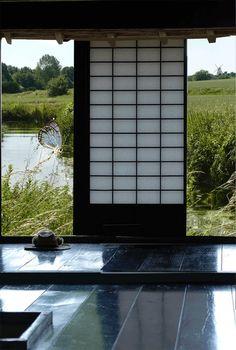 nuit magique d 39 une fen tre japonaise gif anim