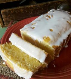 Lemon loaf from Starbucks-1 1/2 c flour, 1/2 tsp baking soda, 1/2 tsp baking powder, 1/2 tsp salt, 3 eggs, room temp, 1 c sugar, 2 tbl butter, softened, 1 tsp vanilla extract, 2 tsp lemon extract, 1/3 c lemon juice, 1/2 c oil, zest of one lemon. Glaze:1 c powdered sugar, 2 tbl whole milk, 1/2 tsp lemon extract.  Preheat oven to 350.