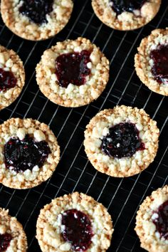 Peek Freans Fruit Cremes...Beurre and Sel Jammer  Recipe from Dorie Greenspan via Bon Appetit Magazine  This is a cookie dough recipe with streusel and jam.