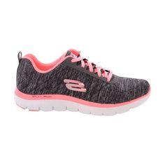 Skechers - Women's Flexappeal 2.0 Sneakers - Black/Pink