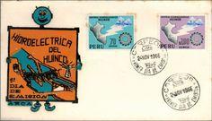 Peru 1966 FDC Central Hidroelectrica de Huinco