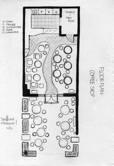 Floor Plan - Coffee Shop