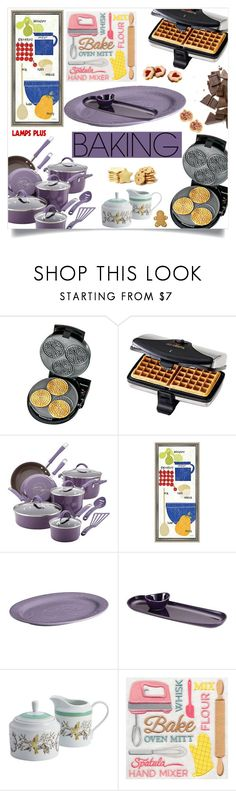 """Let's Get Baking!"" by samra-bv ❤ liked on Polyvore featuring interior, interiors, interior design, home, home decor, interior decorating, Chef'sChoice, Rachael Ray and Wilton"