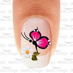 French Manicure Nails, French Nails, Gel Nails, Nail Polish, Daisy Nails, Purple Nails, Spring Nails, Summer Nails, Sophisticated Nails