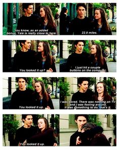 Gilmore Girls... when Jess was good