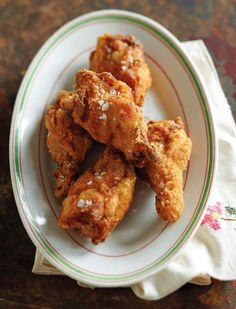 Southern Fried Chicken Wings Recipe | James Villas (Quick, easy, and doesn't mess up the stovetop with spatters.)