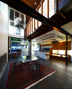 Gibbon St House in Brisbane, by Shaun Lockyer Architects.