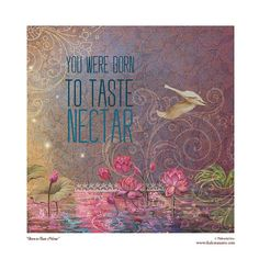 Nectar 8x8 matted art print fits 11x14 frame by ThakuraniArts, $28.00