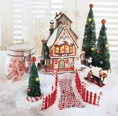 Lemax and Department 56 Village Displaying Techniques   ChristmasCentral