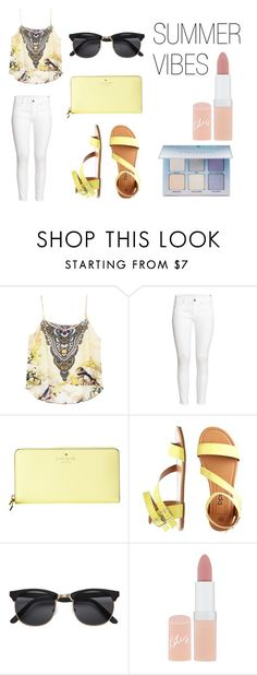 """You and Sammy on a date while he sings ""aye ma"" to you"" by omaha-magcon-fangirl on Polyvore featuring H&M, Kate Spade, Rimmel, Anastasia Beverly Hills and magcon"