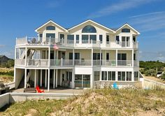 Twiddy Outer Banks Vacation Home - Mermaid's Reef - 4x4 - Oceanfront - 8 Bedrooms RIGHT ON BEACH