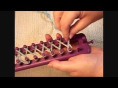 How To Loom Knit - Stockinette Stitch - YouTube (Stockinette stitch is a basic knitting stitch. To knit stockinette stitch (abbreviated St st), you alternate a knit row with a purl row. The right side is typically the smooth side, called stockinette or knit. On this side, the stitches look like small Vs. The bumpy side of stockinette stitch fabric is called reverse stockinette or purl.)