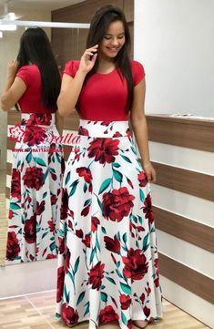 Leggings Wholesale & Manufacture - Xiamen Aicai Apparel Co. Modest Outfits, Skirt Outfits, Modest Fashion, Dress Skirt, Casual Dresses, Fashion Outfits, Floral Dresses, Elegant Dresses, Church Attire