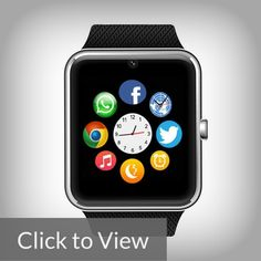 """Bluetooth Smartwatch  It's one of the newest releases in the market. It looks a lot like the Vallen Sweat Proof Smartwatch and it's really hard to differentiate the smartwatches from each other. Like the Vallen Sweatproof, it has a 1.54"""" square display and an innocuous set of features."""