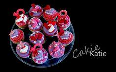 Roller skate cupcakes