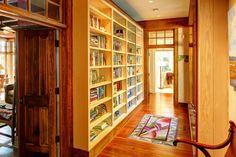 5 Copp Landing - Books along the hallway