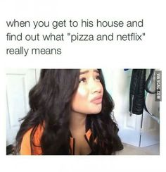 Pizza and Netflix?