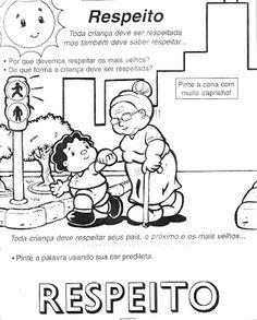 Atividades para o dia da vovó! - ESPAÇO EDUCAR Bible Crafts For Kids, Professor, Literacy, Texts, Coaching, Preschool, Classroom, Comics, Grande