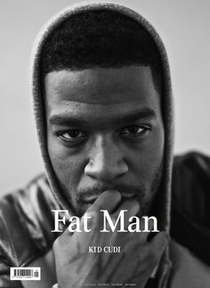 Kid Cudi covers first ever Fat Man magazine!