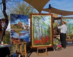 Carefree AZ. Art Festival