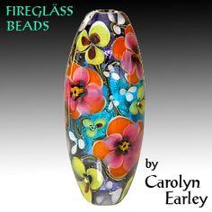 Carolyn Earley - Fireglass Art #lampwork #beads