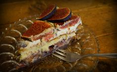 Sofia is for foodies! (fig cheesecake)