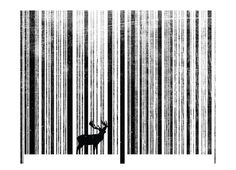 Teeshirt design 'To Scan a Forest' by Thomas Aldrich Girly Teeshirt sizes S to 2XL currently reduced to $10